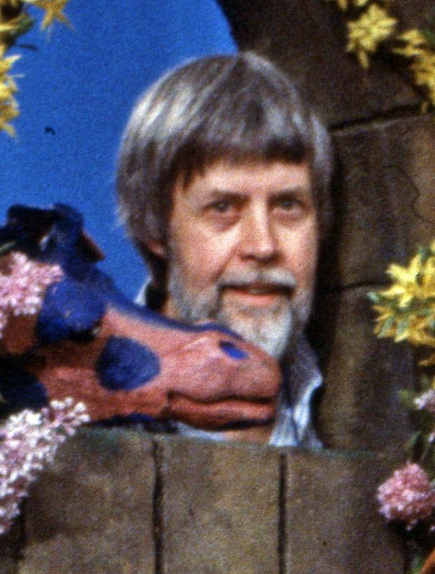 Puppeteer Rod Coneybeare brought Rusty and Jerome to life on The Friendly Giant