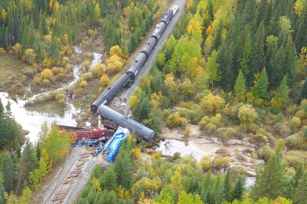 Beavers may have contributed to fatal train derailment in