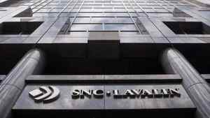 Montreal headquarters of engineering giant SNC-Lavalin. SNC has won a $1.6-billion five-year contract to build transmission lines and substations in Alberta.
