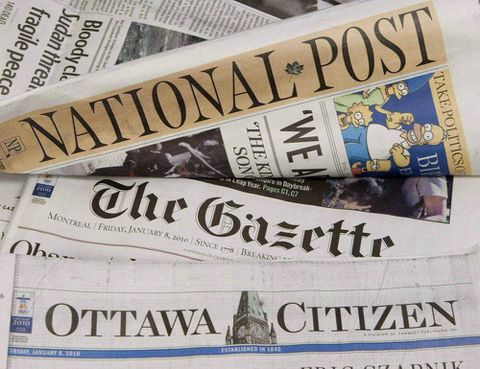 Moody's sounds warning about Postmedia