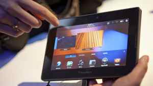 Research In Motion Ltd.'s Playbook tablet.
