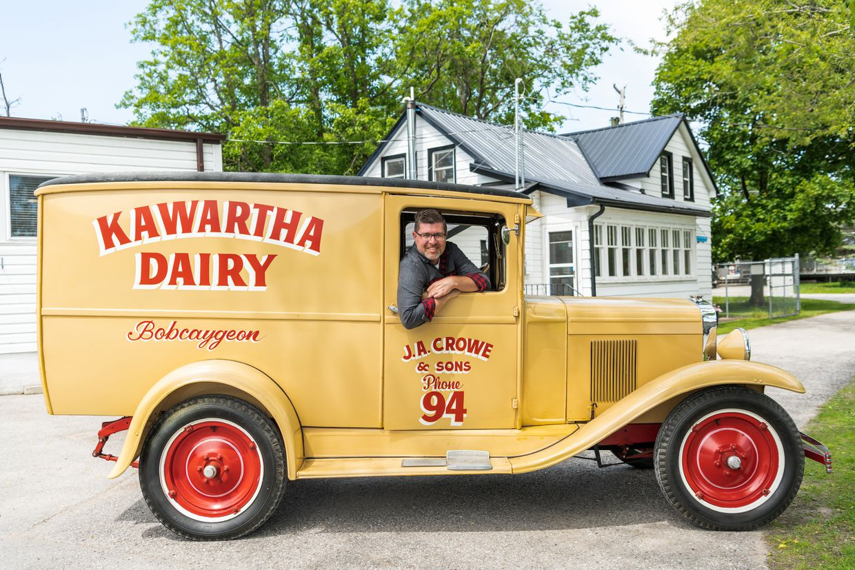 He first worked at Kawartha Dairy as an 11-year-old. Now he's back as CEO.