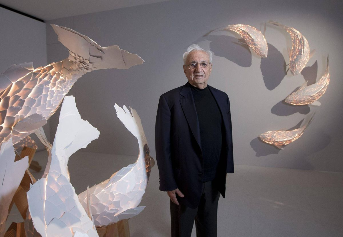 Canadian Born Architect Frank Gehry Teach Online Architecture Course The Globe And Mail