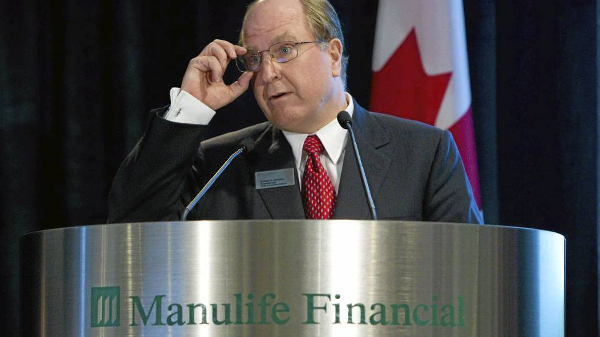 Manulife Financial president and CEO Donald Guloien