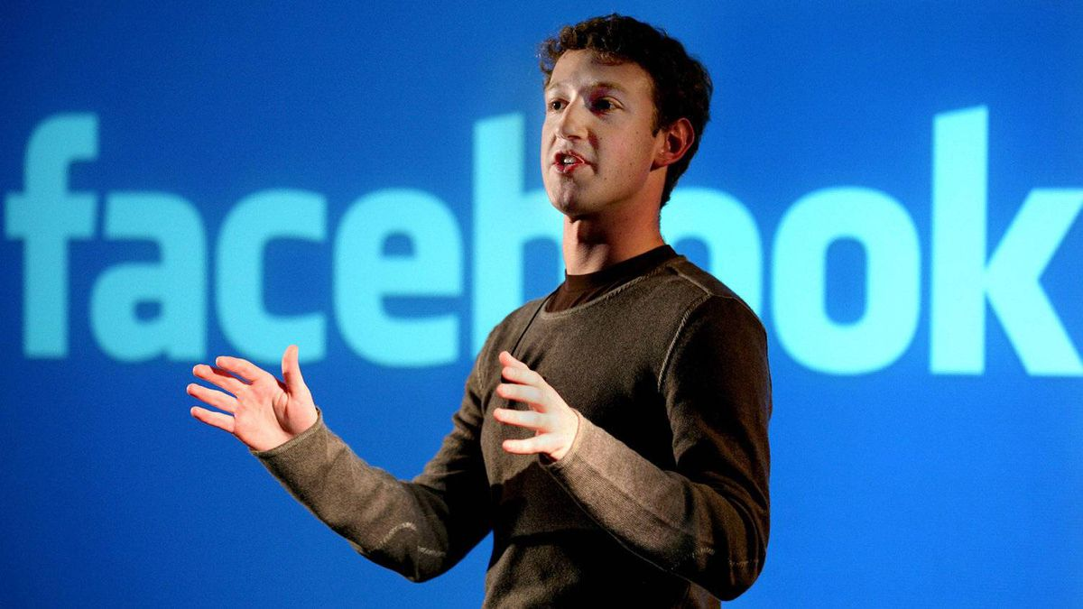 The face of Facebook: Twenty-seven-year-old CEO and founder Mark Zuckerberg.