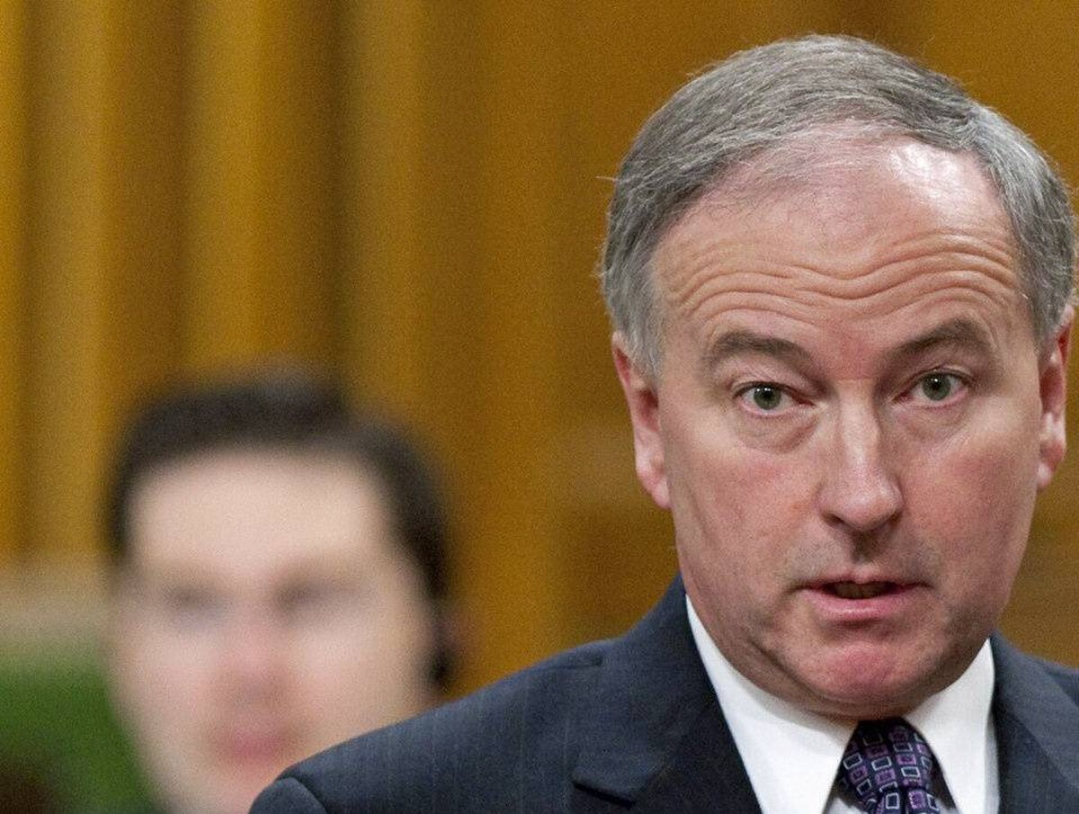 Justice Minister Rob Nicholson speaks during Question Period in the House of Commons on Friday, March 5, 2010.