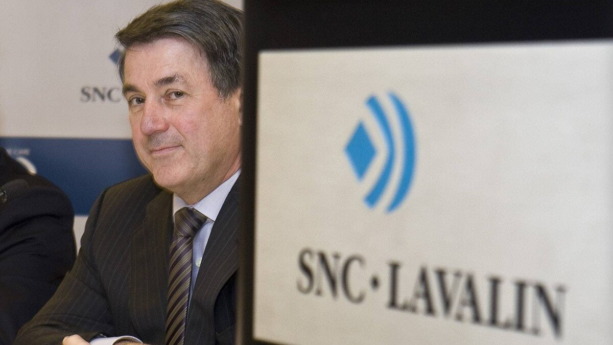 Pierre Duhaime, president and CEO of SNC-Lavalin