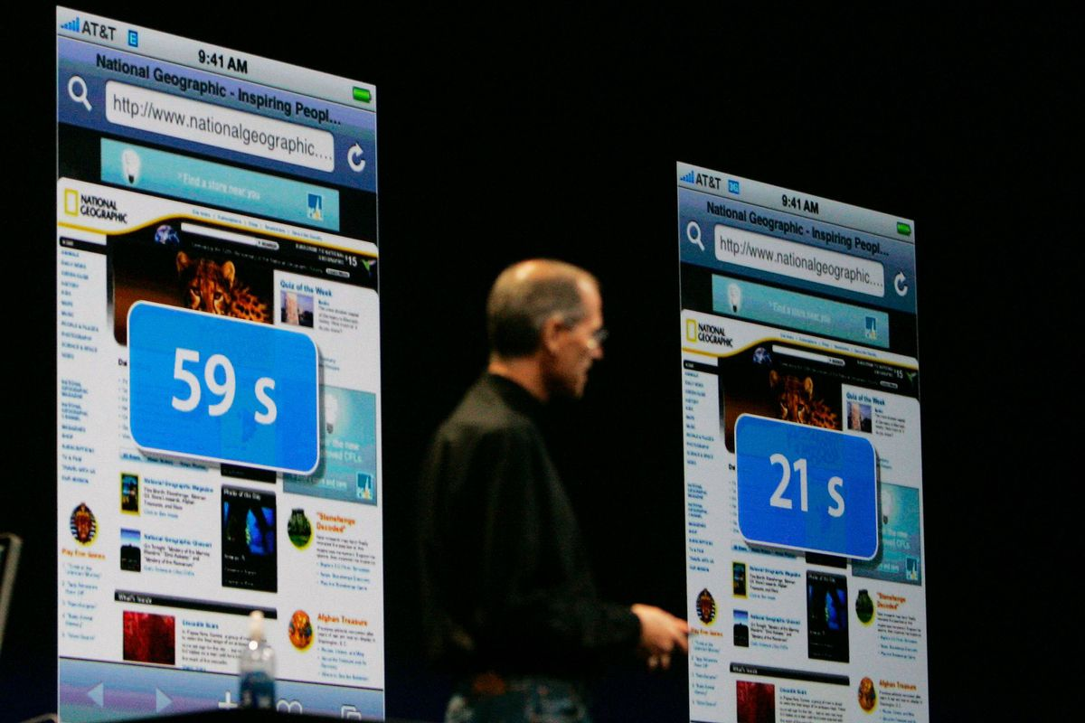 It's easy to forget, but the first generation iPhone didn't even run on so-called 3G wireless networks, but a slower, older network called EDGE. And yet, the insatiable demand for bandwidth and data caught carriers so off guard that special iPhone-specific data plans had to be offered instead. But more importantly, the iPhone proved that access to mobile data – and lots of it – would be a big issue for smartphone users and carriers alike for years to come.