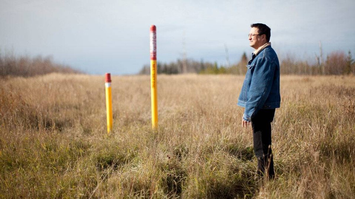 Three First Nations have asked Enbridge to move the pipeline route onto their territory, so that they can derive revenue from it. It?s why Darwin Alexis, a councillor in one of those nations, can walk onto the proposed route, where a thoroughfare the width of a football field has already been cut through the forest to accommodate three existing pipelines, and say, ?the impacts are here already. So there?s no big impact.?