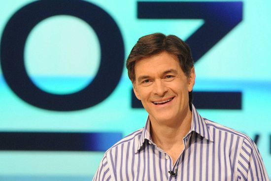 In this Aug. 12, 2009, file photo originally released by Harpo, Inc., Dr. Mehmet Oz is pictured during the production of The Dr. Oz Show in New York.