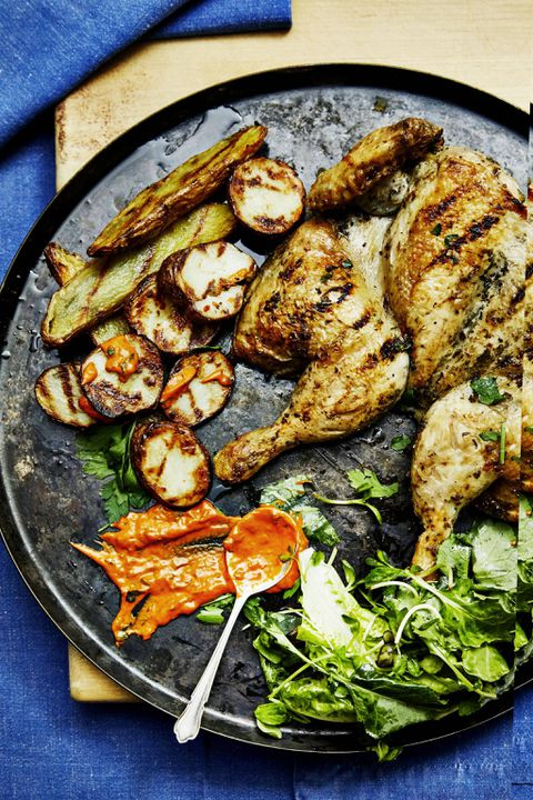 Recipe: Middle Eastern chicken with lemon garlic sauce