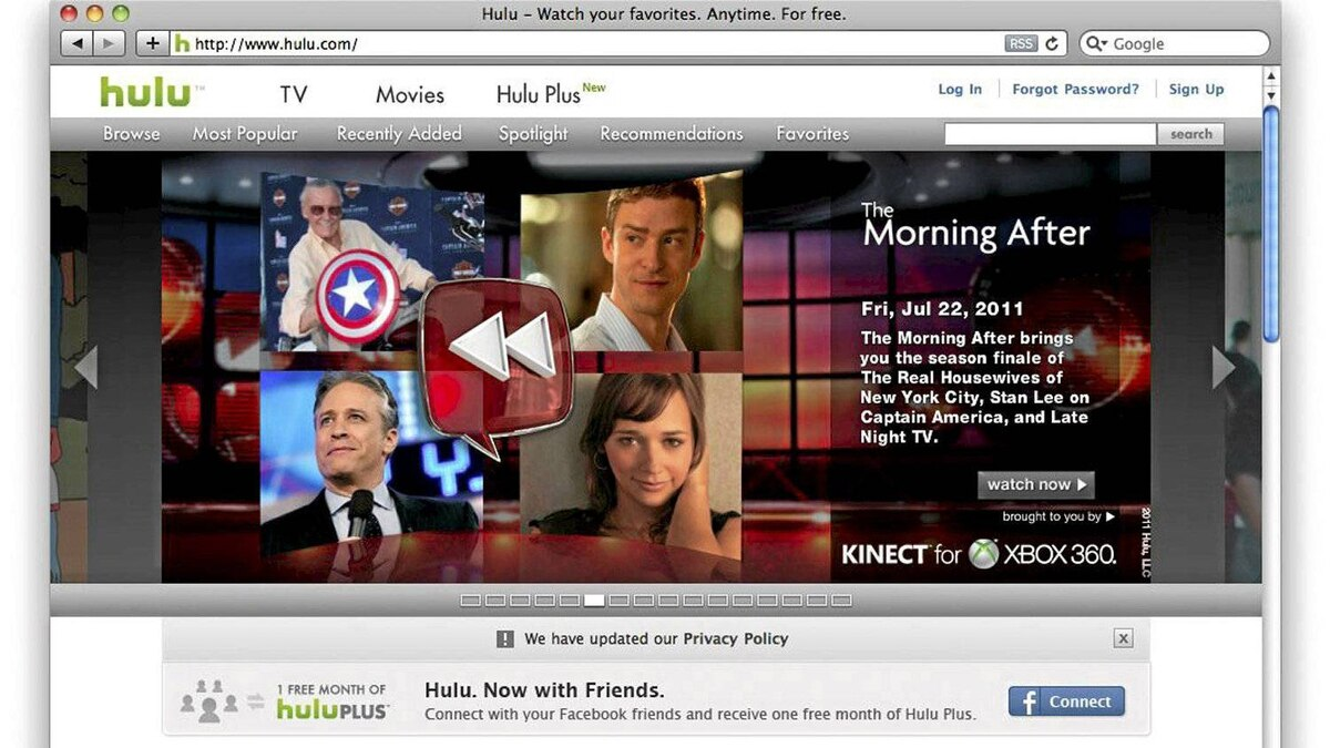 Apple Inc. is eyeing a possible acquisition of TV website Hulu.
