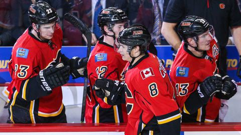 Colborne, Ortio among Flames restricted free agents given qualifying offers