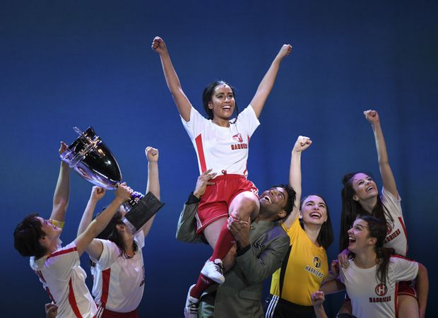 Bend It Like Beckham: The Musical may not be major league, but it still has the emotional kick to send your heart aloft