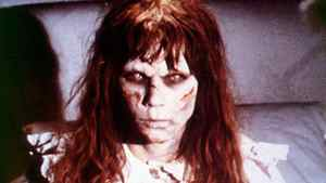 Linda Blair in The Exorcist .