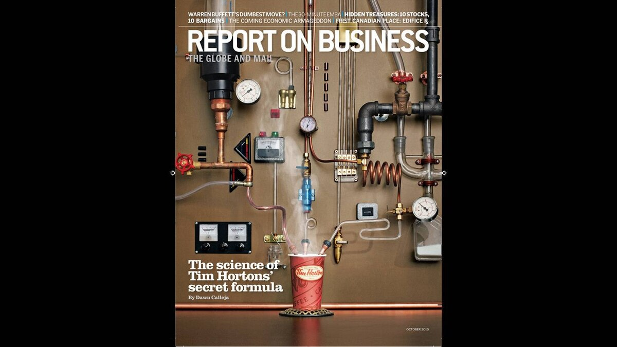 The October 2010 issue of Report on Business magazine.