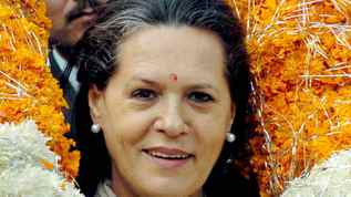 Sonia Gandhi is president of the All India Natonal Congress, largest bloc in the coalition government.