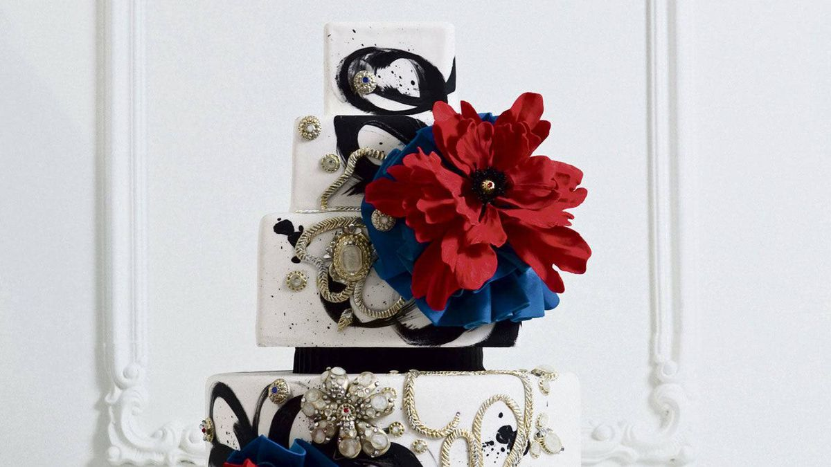 One of Cake Opera Company's floral masterpieces