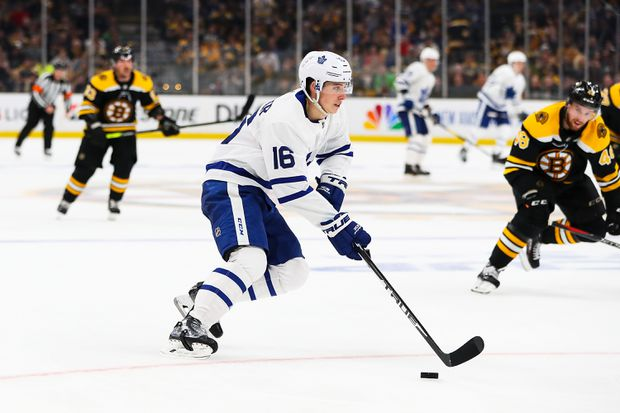 save off 47984 d5368 Mitch Marner agrees to six-year deal with Toronto Maple ...