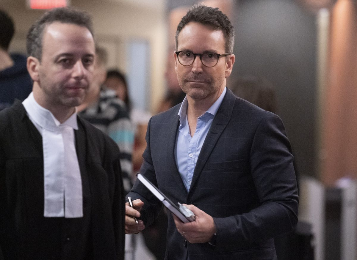 Trial of Quebec entertainer Eric Salvail hears testimony of alleged sex assault