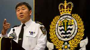 Vancouver Police Chief Jim Chu responds to the report into the Stanley Cup riot in Vancouver on Thursday, Sept. 1, 2011.