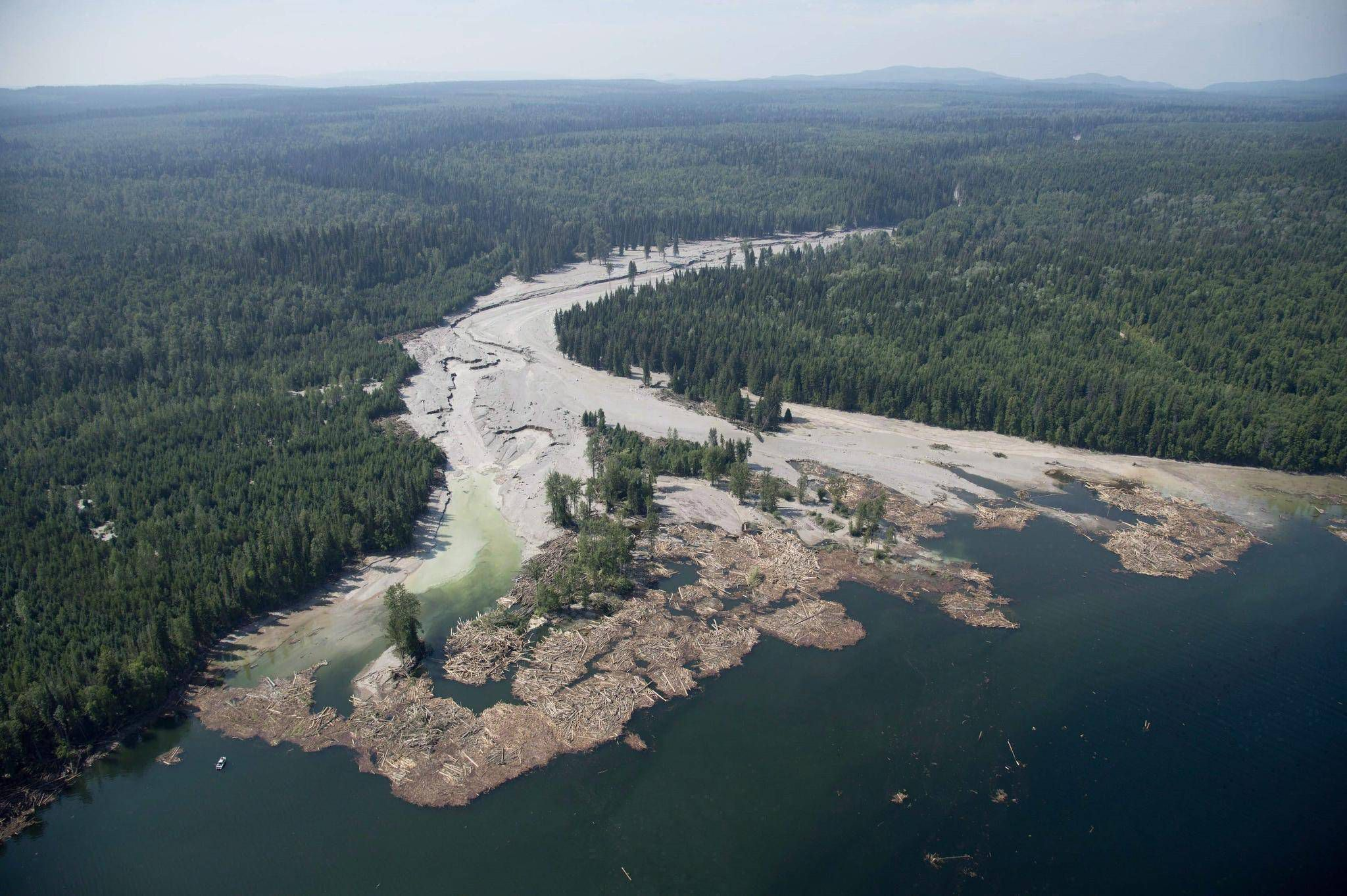 B C  mine tailings ponds pose serious risk to water sources: report
