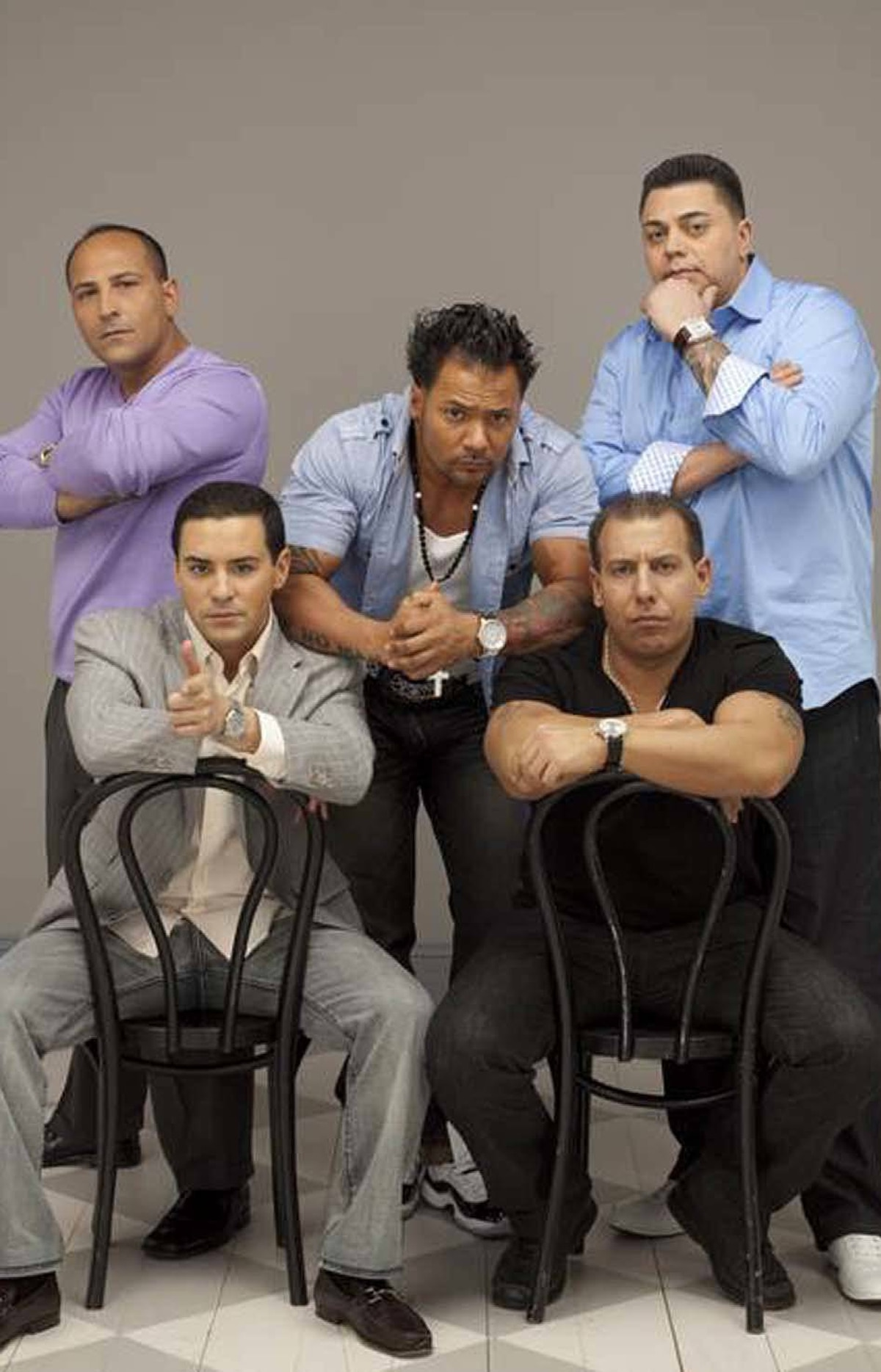 REALITY Mama's Boys of the Bronx TLC, 10 p.m. ET/PT Debuting tonight, this new program is TLC's version of Jersey Shore, with one significant tweak. Whereas the guidos and guidettes of Shore are footloose and fancy-free, this eight-part series profiles five brash Italian-American friends with one big thing in common: Each one still lives with his mom in the Bronx, N.Y., and is darn proud of it. Tonight's first episode introduces Anthony, Giovanni, Peter, Frankie and Chip, each in his 30s and each completely dependent on their mothers for everything from home-cooked meals to clean underwear. In the second show, Peter prepares a surprise birthday party for his girlfriend, with a little help from mama.