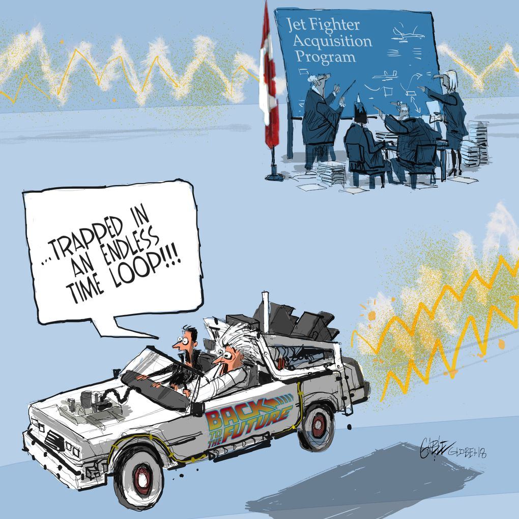 Editorial Cartoons for October, 2018 - The Globe and Mail