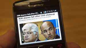 Some observers in the advertising industry believe RIM needs to focus on courting its core customer for the BlackBerry.