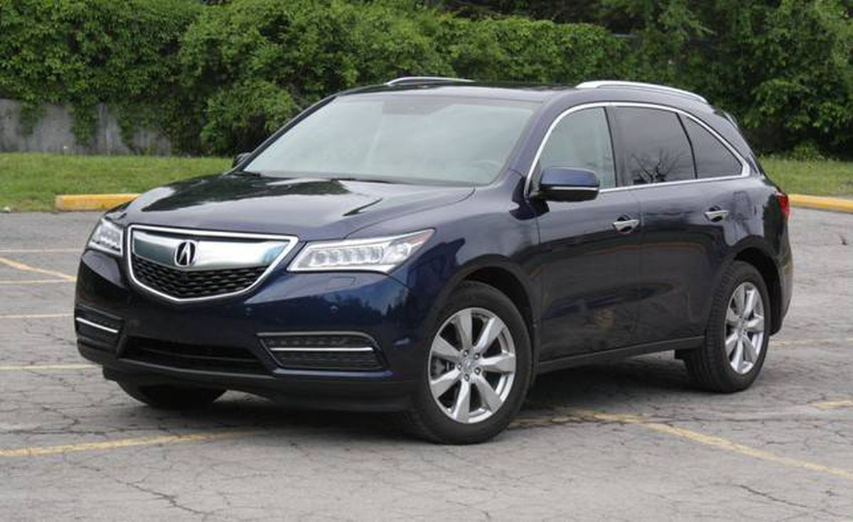 review 2015 acura mdx has sharp handling but better. Black Bedroom Furniture Sets. Home Design Ideas