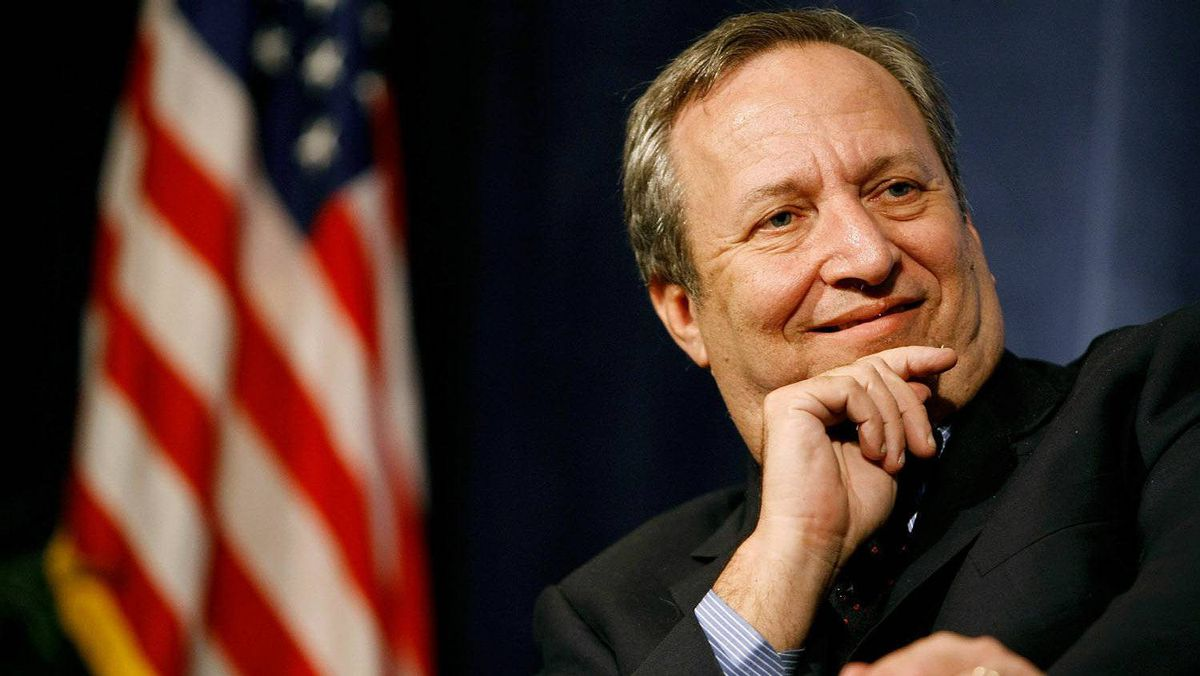 Lawrence Summers, forrmer Director of President Barack Obama's National Economic Council, is seen in this 2009 file photo.