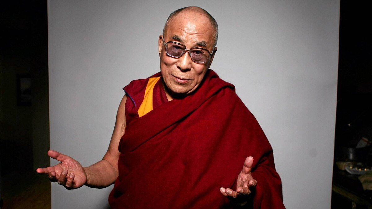 April 27, 2012: Dalai Lama pose for a portrait during an interview in Ottawa.