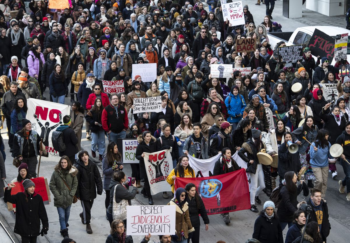 Indigenous people face racist backlash over pipeline protests