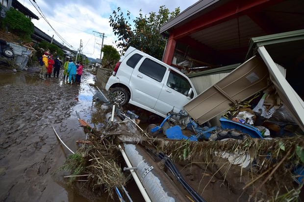 Japan's worst typhoon in decades leaves rising death toll in its wake