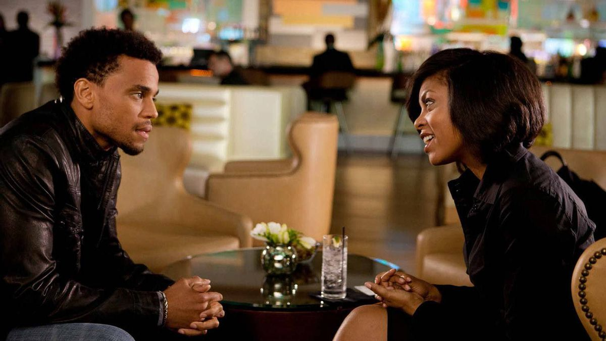 """Michael Ealy and Taraji P. Henson in a scene from """"Think Like a Man"""""""