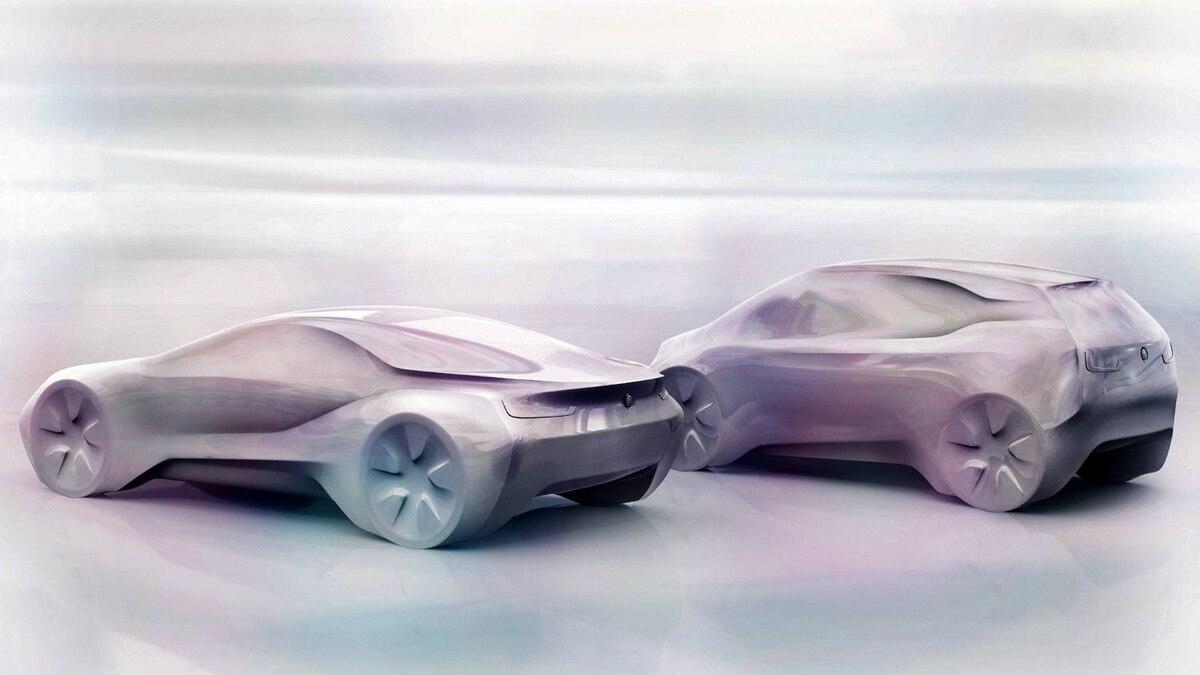 BMW i3 and i8 prototypes