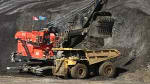 Oil sands mine in Alberta