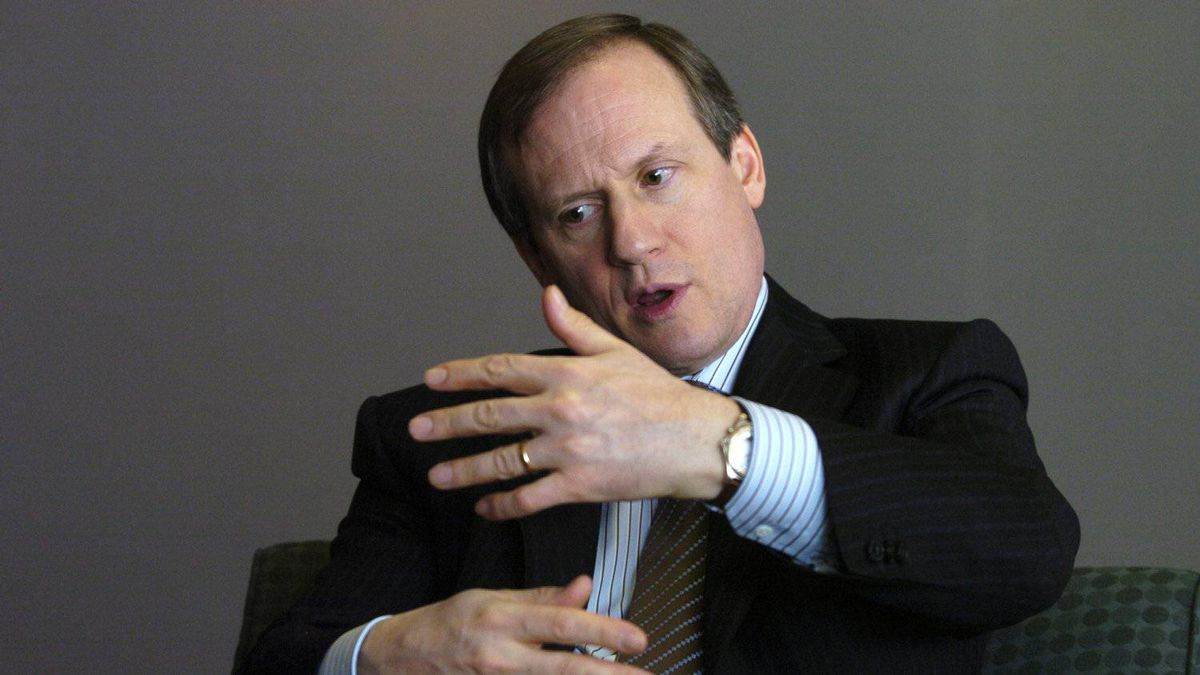 File photo of Louis Audet, President and Chief Executive Officer of COGECO Inc.