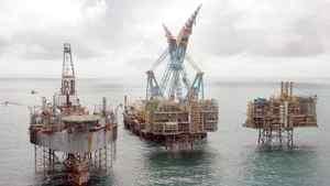 Nexen platforms in the North Sea
