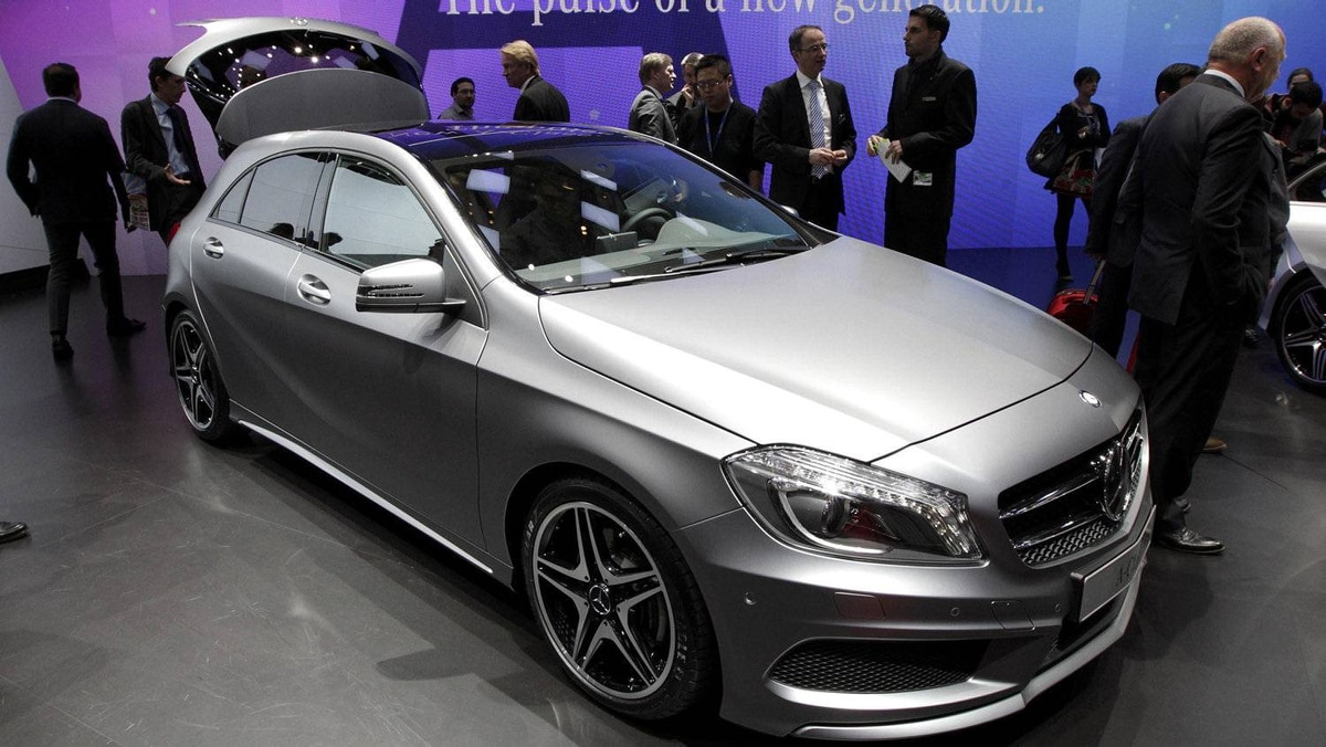 The new Mercedes-Benz A-Cass.