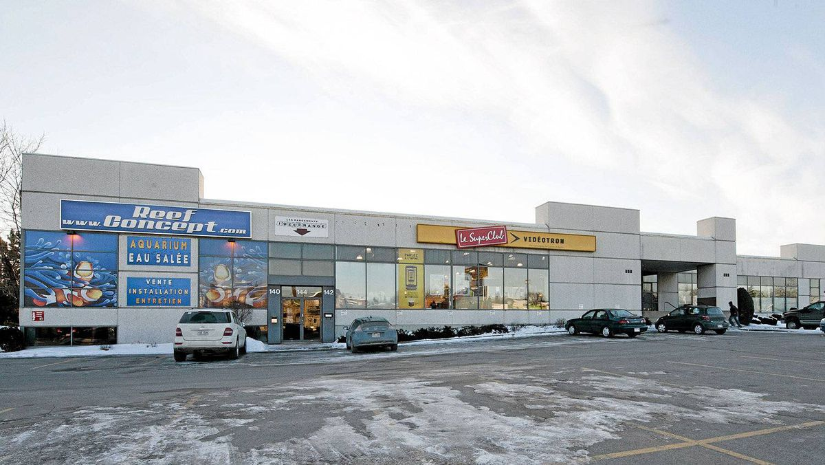 A commercial property owned by Mohammad Shafia in Laval, Quebec.