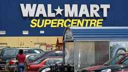 Scarborough July 10/09 - Customers head in and out of a Walmart Supercentre location in Scarborough, Ontario, Canada. Photo by Deborah Baic The Globe and Mail