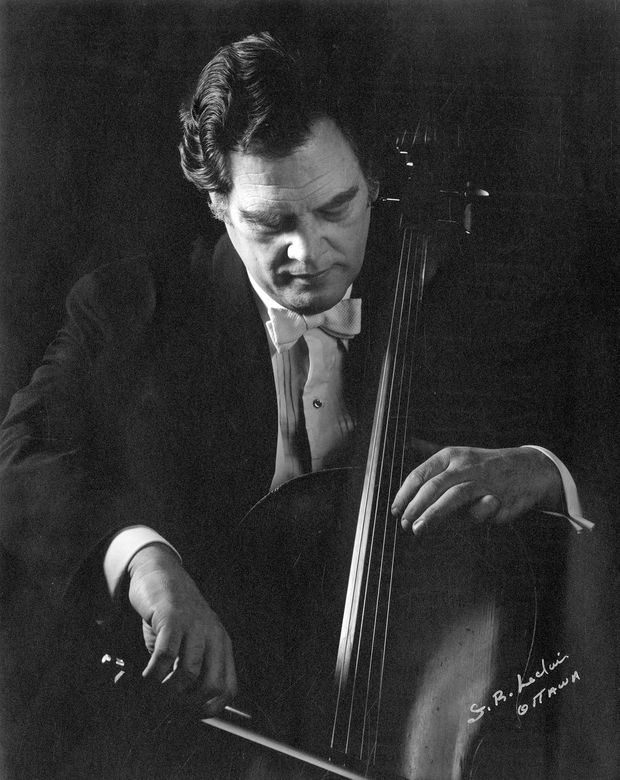 Cellist Donald Whitton played with the Canadian rock band