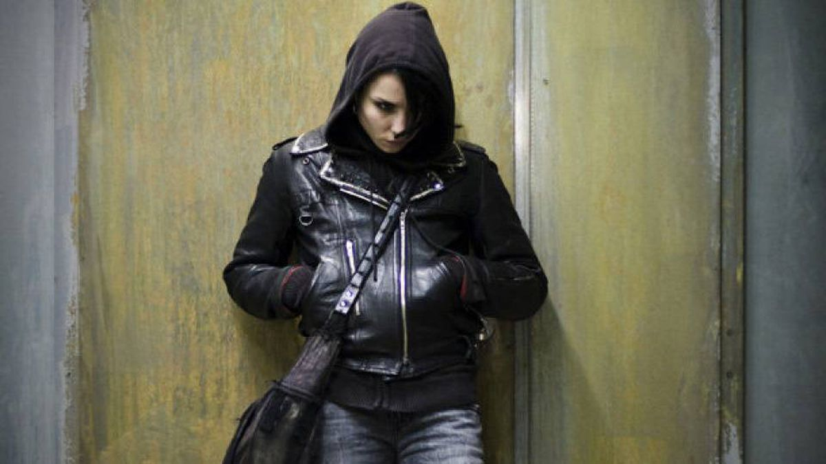 Lisbeth Salander, as played by the Swedish actress Noomi Rapace in the film version of The Girl with the Dragon Tattoo