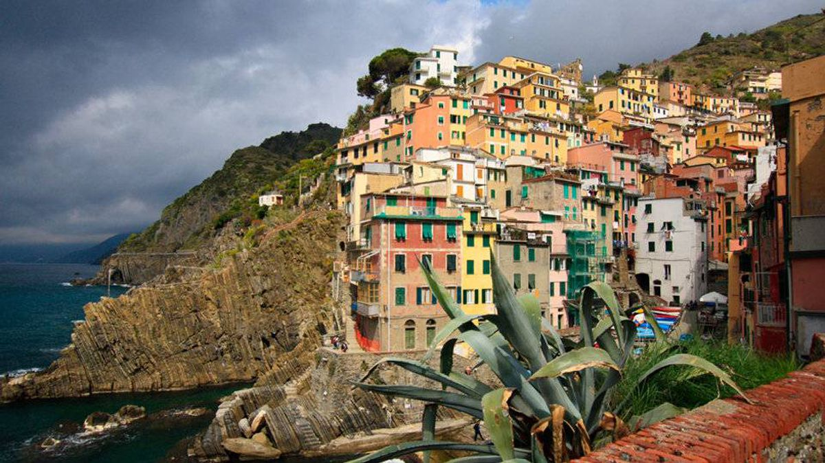 From Catherine Tolton of Winnipeg, Manitoba The ever changing magical light is just part of the allure of the village of Riomaggiore in Cinque Terre, Italy. This photo was taken on Good Friday, April 6, 2012.