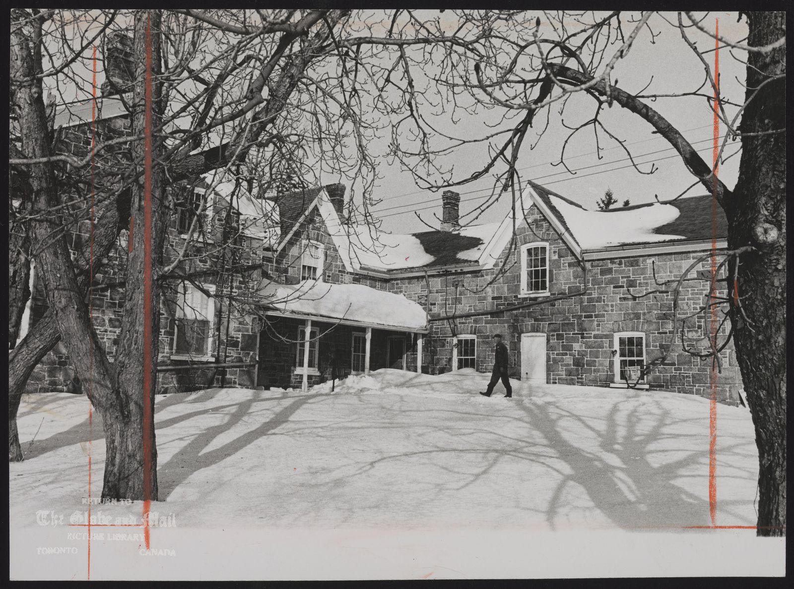 BROUGHAM (Hamlet) (Ontario) (House owned by grandson of original builder John Milles house will be expropriated for new Pickering airport) house dates back to 1855)
