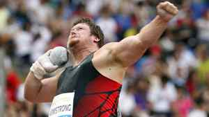 Canada's Dylan Armstrong