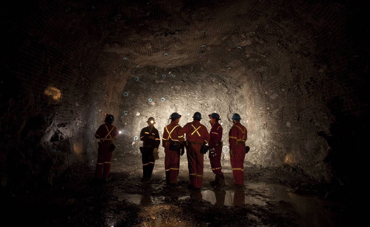 Now that that pit has reached its bottom, miners are digging a network of tunnels to extract what remains of the carrot-shaped deposit of kimberlite that they have been pulling from the ground for nearly a decade.