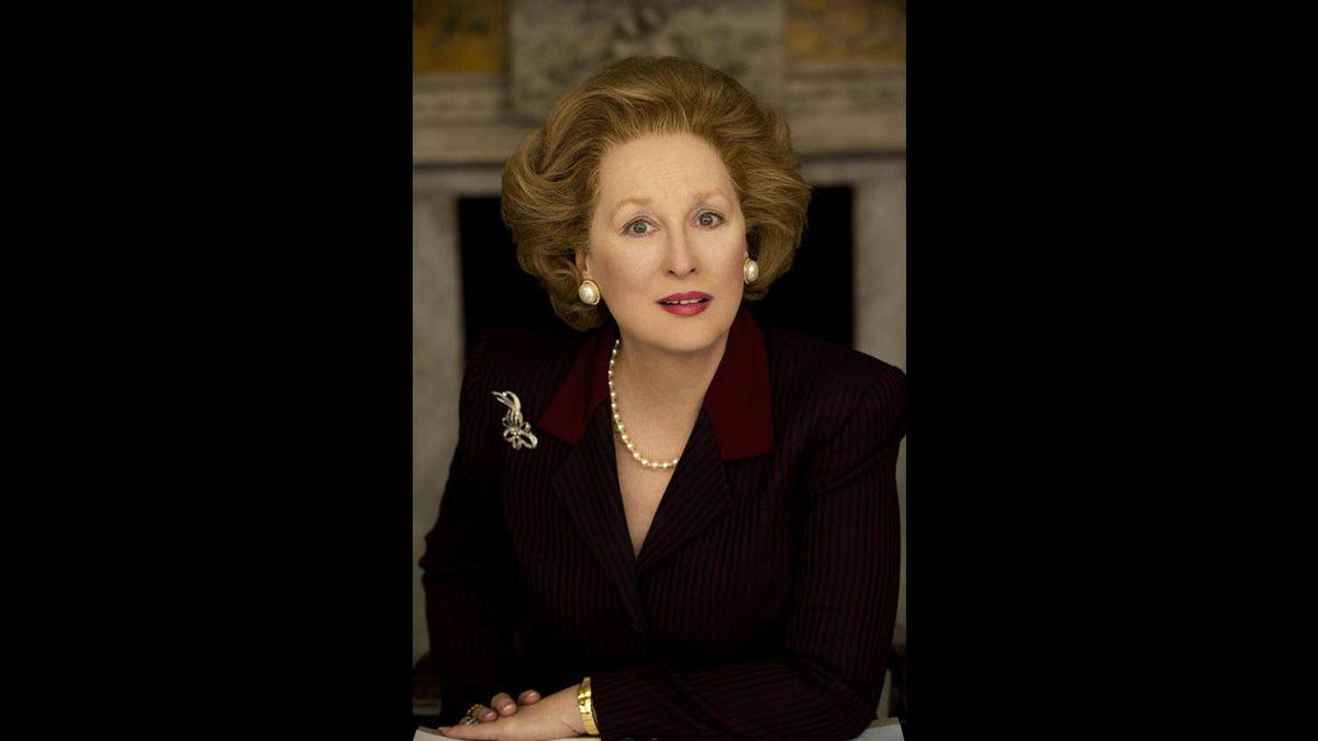 The Iron Lady (Jan. 13) Meryl Streep dons false teeth and a power bouffant in this portrait of Britain's controversial prime minister, directed by Phyllida Lloyd (Mamma Mia!). Early reviews rave about La Streep, but are less hot on the film, which is more interested in the personality than the policies. 3/5