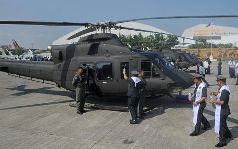Philippines says Canada helicopters 'not for attack'